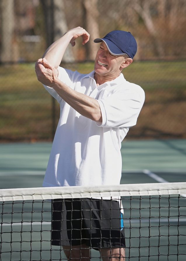 Tennis Elbow & K Laser Therapy